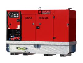 Diesel Aggregaat EPSR60TDE-3A Iveco 1500rpm 62dB(A) 60 kVA | 400V | SUPER SILENT