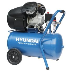 Hyundai 50L Compressor 8BAR directe aandrijving V 3PK