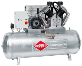 Airpress Compressor GK2000-500SD  ( Y/D ster driehoek starter) (met gegalvaniseerde tank)