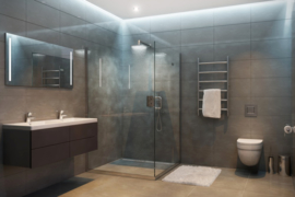 Een elektrische kachel in de badkamer, kan dat wel ?