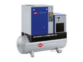 Airpress Schroefcompressor APS 5,5 Basic G2 CombiDry