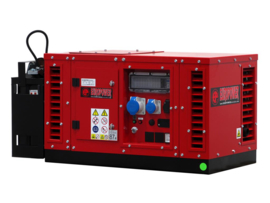 Benzine Aggregaat EPS6000E Honda 3000rpm 62dB(A) 5,4 kVA | 230V | SUPER SILENT