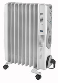 Eurom RAD 2000Turbo oliegevulde radiator kachel