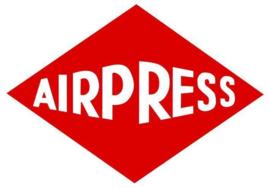 """Airpress slagmoersleutelset (1/2"""") 353Nm incl 10 Slagdoppen"""