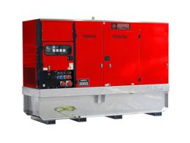 Diesel Aggregaat EPUS130TDE-3A Volvo 1500rpm 68dB(A) 130 kVA | 400V | ULTRA SILENT