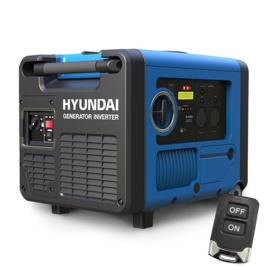 Hyundai Inverter/generator 4 kVA 4takt benzine motor