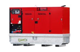 Diesel Aggregaat EPSR100TDE-3A Volvo 1500rpm 68dB(A) 100 kVA | 400V | SUPER SILENT