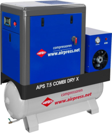 Airpress Schroefcompressor APS 7.5 CombiDry X