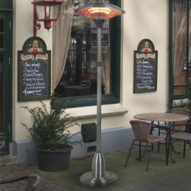 Eurom | Staande Terrasverwarming | Elektrisch | PD2100 XXL | 2100W | 17m² | Halogeen | 333572