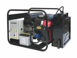 EUROM Benzine aggregaat HM10000E met Honda motor (230V) Elektrische start