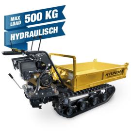 Hyundai Motor kruiwagen met hydraulische lift 500KG