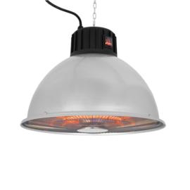 Eurom | Hangende Terrasverwarming | Elektrisch | Partytent Heater 1500 industrial | 600-900-1500W | 14m² | Carbon | 333169