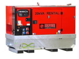 Diesel Aggregaat EPUS14TDE Kubota 1500rpm 54dB(A) 13 kVA | 400V | ULTRA SILENT