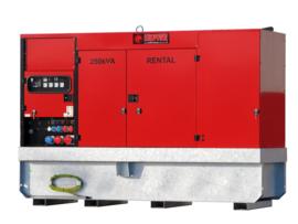 Diesel Aggregaat EPSR150TDE-3A Volvo 1500rpm 72dB(A) 150 kVA | 400V | SUPER SILENT