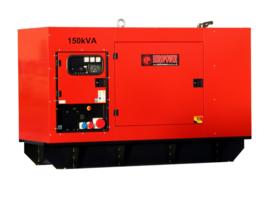 Diesel Aggregaat EPS150TDE-3A Volvo 1500rpm 72dB(A) 150 kVA | 400V | SUPER SILENT