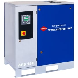 Airpress Schroefcompressor APS 15-D (+ ES3000 energy saver)