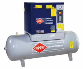AIRPRESS SCHROEFCOMPRESSOR BASIC COMBI APS 10