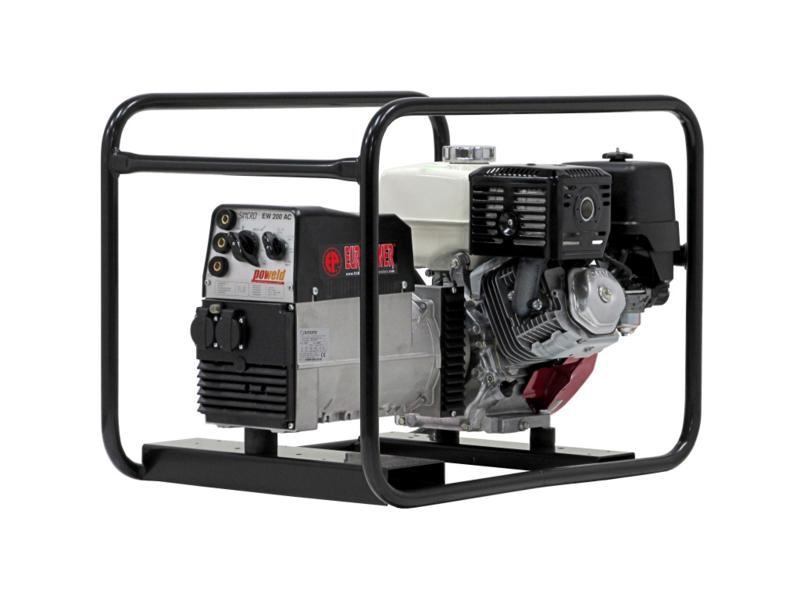 Europower EP200X1 Honda benzine lasaggregaat 200AC