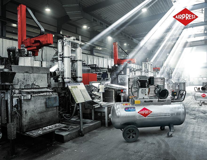 Airpress Compressoren 400V Semi-professioneel 10 bar Max (GK-gegalvaniseerde lijn)