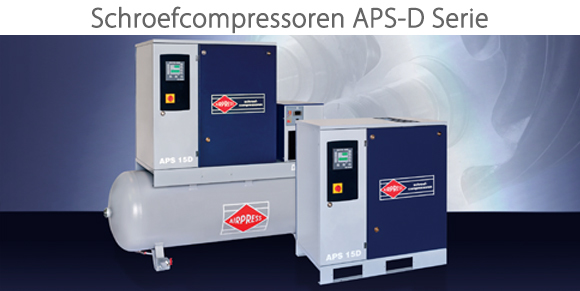 Airpress schroefcompressoren