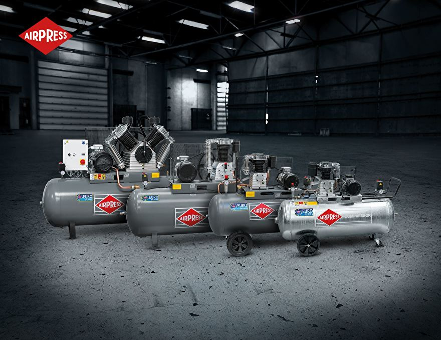 Airpress Compressoren 400V Semi-professioneel 10 bar Max (HK-serie)