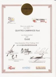 Quatro Caminhos reserve rood 2010