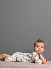 Babypyjama vos -  biologisch katoen