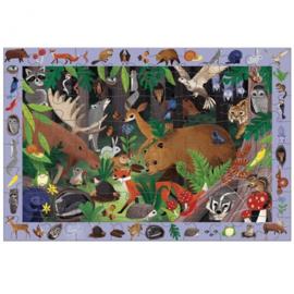 Zoek en Vind puzzel Bosdieren