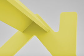 Ledikant Slaaphuisje geel