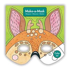 Maak een masker - Bosdieren /20st