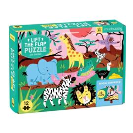 Flapjes puzzel safaridieren -2j