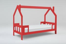 1 persoons kinderbed Slaaphuisje rood