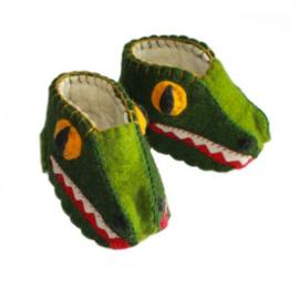 Babyslofjes Krokodil
