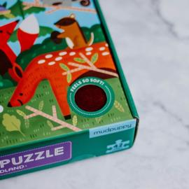 Voel puzzel Bosdieren