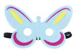 Masker Vlinder - blauw
