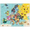 Puzzel Europa- 5j