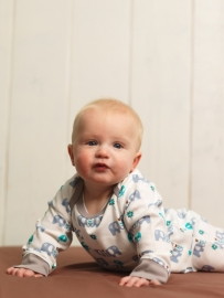 Babypyjama Olifant -  blauw