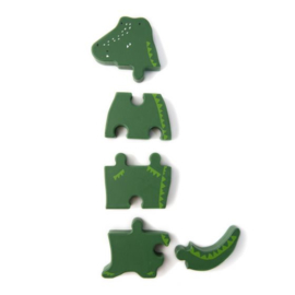 Puzzel Krokodil