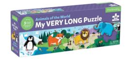 Superlange dieren puzzel - 3j