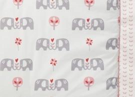 Boxkleed olifant - roze