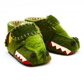 Peuterslofjes Krokodil