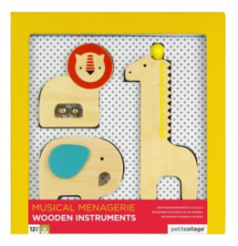 Muziekinstrumenten set Dieren
