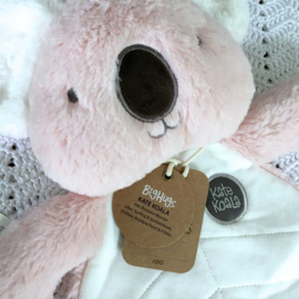 Knuffeldoekje Koala - roze