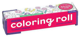 Uitrolbare kleurplaat Bloemen & Dieren