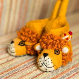 Kindersloffen Leeuw