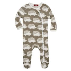 Baby pyjama Egel - grijs