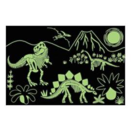 Glow in the dark puzzel Dino -5j