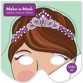 Maak een masker - Prinsessen / 20st