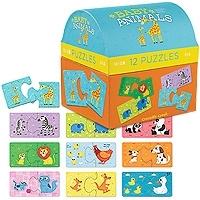 Puzzelbox Babydieren
