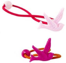 Haarelastiekjes Zwaluw